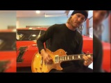 Kenny Wayne Shepherd - Backstage Improvisation On Les Paul Guitar