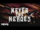 Judas Priest Never The Heroes Lyric Video