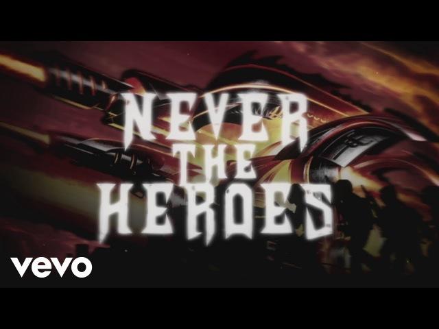 Judas Priest - Never The Heroes (Lyric Video)
