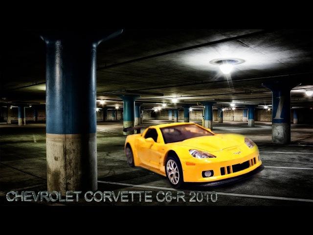 CHEVROLET CORVETTE C6-R 2010 RMZ City со звуковыми и световыми эффектами