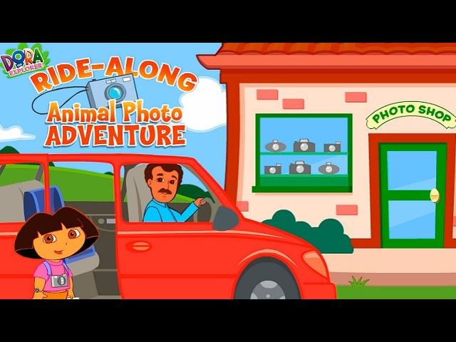 Dora the Explorer Dora's Animal Photo Adventure Funny Games TV