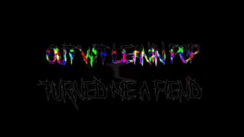 N0THIN MATTERS - XENOEXIST prod FATAL M (official lyric video by Yungredo)