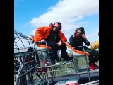 realpotap Spoiler of new Mozgi MV! We start shooting Set on Florida Waters in Air Boats ! Our friend & talanted director @dannykekspro Scare nothing! @alexyaro is helping ,my OG's @positiff @d.vadya_mozgi rapin' ! Go with the flow!