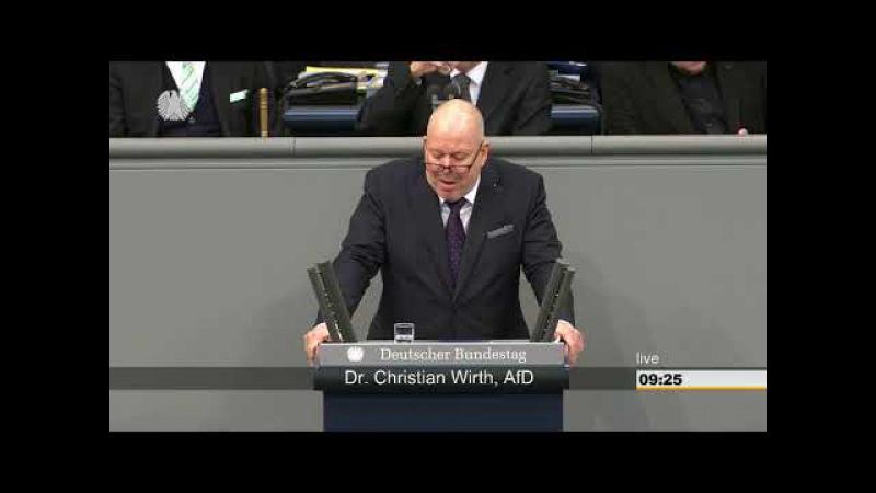 Christian Wirth (AfD):Wenn Sie weiter Massenmigration wollen, dan sagen Sie es jetzt!