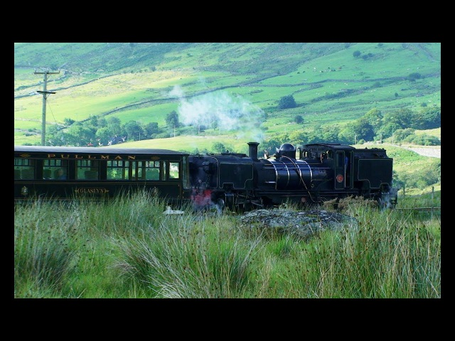 Welsh Highland Railway Driver's Eye View Part 2 Rhyd Ddu to Caernarfon