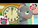 Hickory Dickory Dock More Nursery Rhymes Kids Songs - Cocomelon ABCkidTV