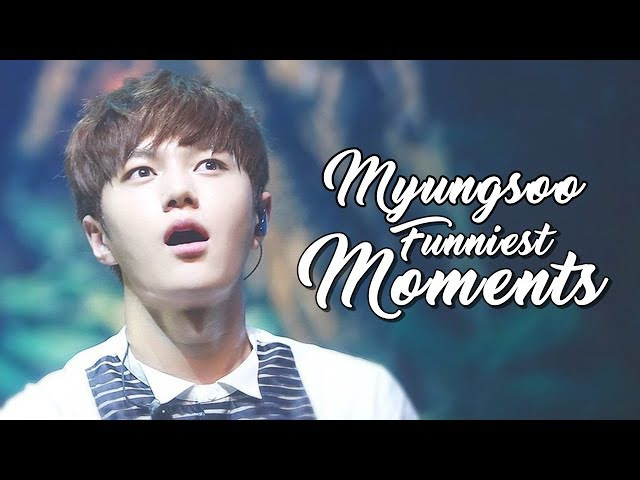 10 MINUTES OF INFINITE (L) MYUNGSOO'S FUNNY MOMENTS