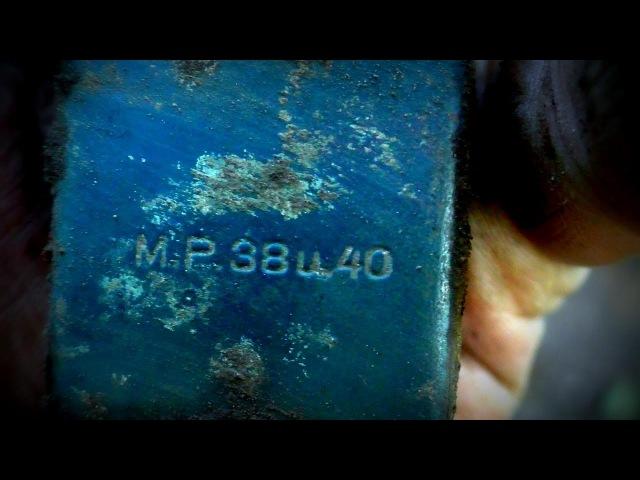 ML74 Раскопки немецких ДЗОТов и блиндажей WW2 Earth and timber bunkers excavations HD SUB