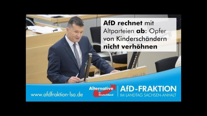 AfD rechnet mit Altparteien ab Opfer von Kinderschändern nicht verhöhnen