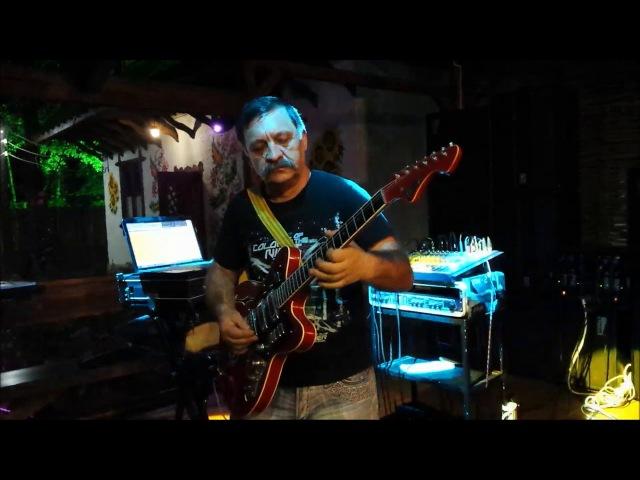 ROSTOM POGOSYAN СОЛО ГИТАРИСТ ( SOLO GUITAR ) MAGAPAS - VANADZOR SOCHI ADLER КАФЕ ХУТОРОК