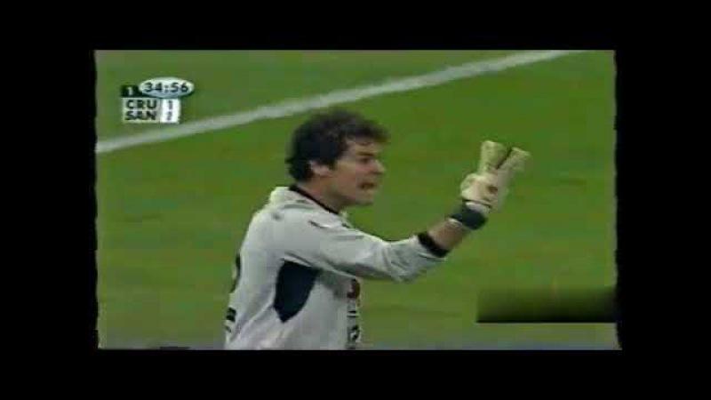 Cruz Azul-MEX 2x2 Santos (Libertadores 2003, Quartas de final, Jogo de IDA) melhores momentos