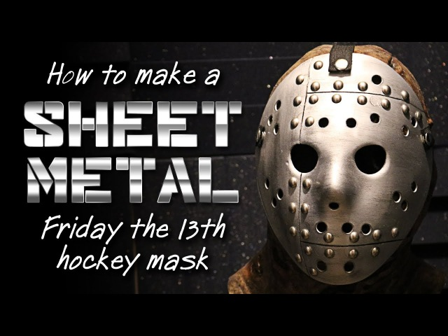 How to Make a Sheet Metal Jason Mask - Friday the 13th DIY Tutorial