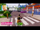 FORTNITE Mobile iOS Android FIRST BETA GAMEPLAY