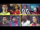Legendary Old Football Skills Show Ronaldo Dinho Totti Henry Kaka Zidane more HD
