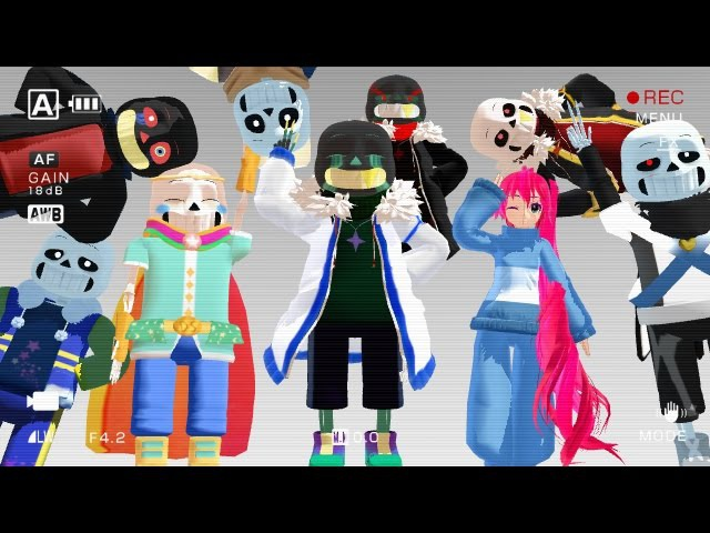 [MMD] Undertale Compliation part 4 (with OC) thanks for 3k