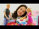 Игры в #куклы для девочек: #Кен готовит РОМАНТИЧЕСКИЙ УЖИН для #Барби. СВИДАНИЕ Ба...