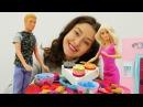Игры в куклы для девочек Кен готовит РОМАНТИЧЕСКИЙ УЖИН для Барби. СВИДАНИЕ Ба...