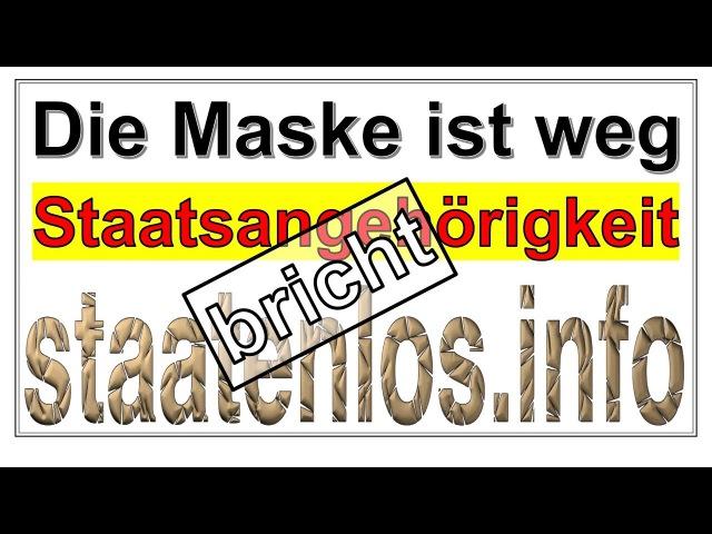 Staatsangehörigkeit bricht Staatenlos.info und Rüdiger Hoffmann
