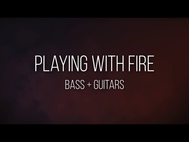 Playing with fire - Dead by April (Only BassGuitars)