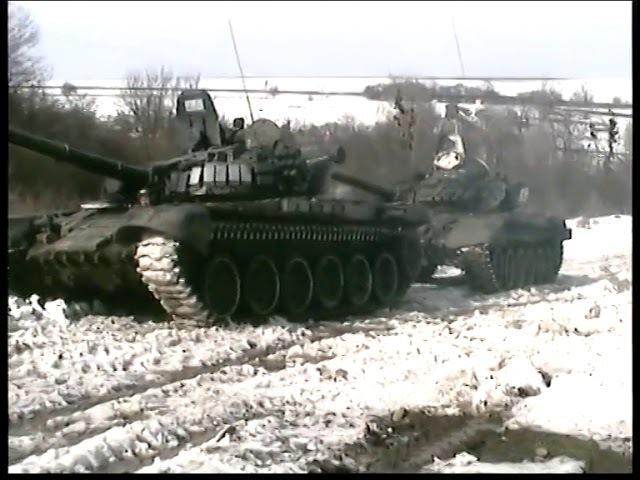 9-ый отдельно танковый батальон. 131 бригада. г.Майкоп. Полигон. ч.1