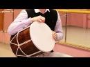 Видео урок игры на кавказском барабане Урок 1