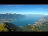 Швейцария  Монтре  Вивей  Озеро  Швейцарская  Ривьера