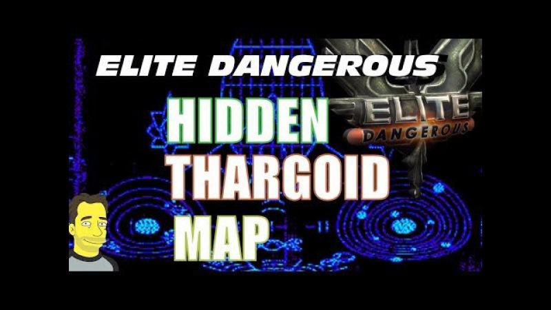 Elite Dangerous - Thargoid Hidden Map Decoded ! 🌏