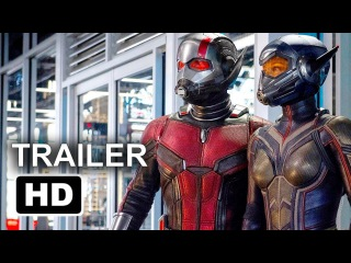 ANT-MAN AND THE WASP Official Trailer #1 (2018) Ant Man 2 Movie HD