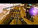XIAOMI MIJIA M365 SNOW TEST ПО СНЕГУ НА ЭЛЕКТРОСАМОКАТЕ