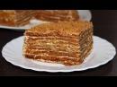 Торт медовик по классическому рецепту Кулинария Рецепты Понятно о вкусном