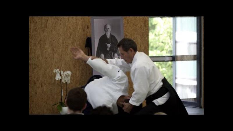Aikido: Christian Tissier Stage de Paque 2017