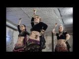 Dagaz ATS trio Dagaz tribe American tribal style