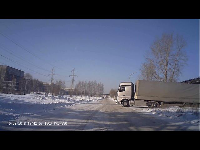 КАМАЗ 54901 проходит дорожные испытания avtospravochnaya com