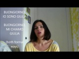 LEARN ITALIAN fast and easy! INTRODUCTIONS and self-introductions (with subtitles). Presentazioni