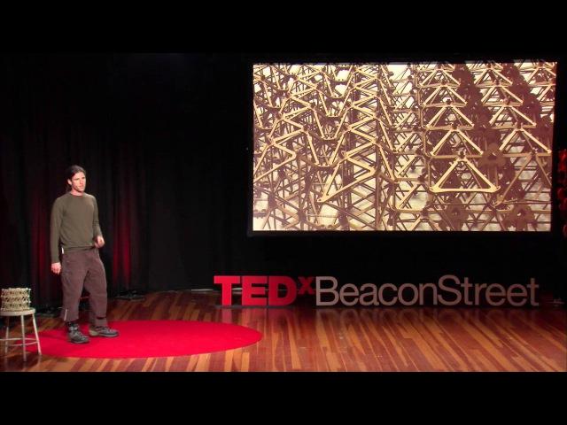 One-bit Bots: Robotic Construction Outside the Box | Matt Carney | TEDxBeaconStreet