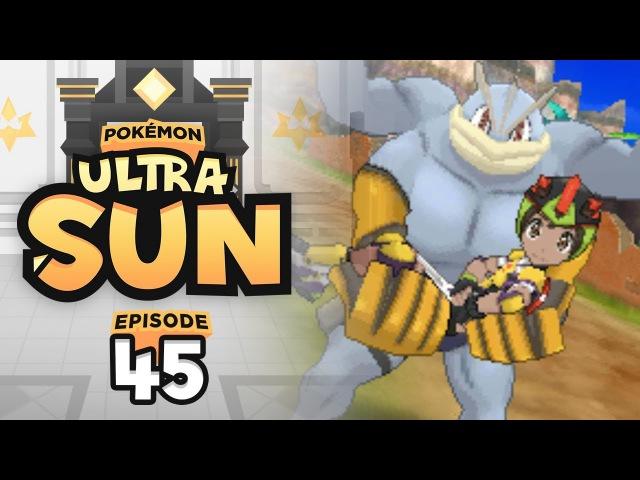 Machamp Shove is a Meme | Pokemon Ultra Sun Ultra Moon Let's Play - 45 w/ TheHeatedMo