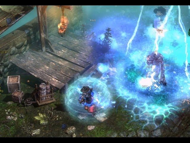 TSS druid, или рухнувшие небеса