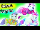 Unicorn Pony Surprise Mom Baby Unicorns Plush That Has Mystery Surprise Foal Babies