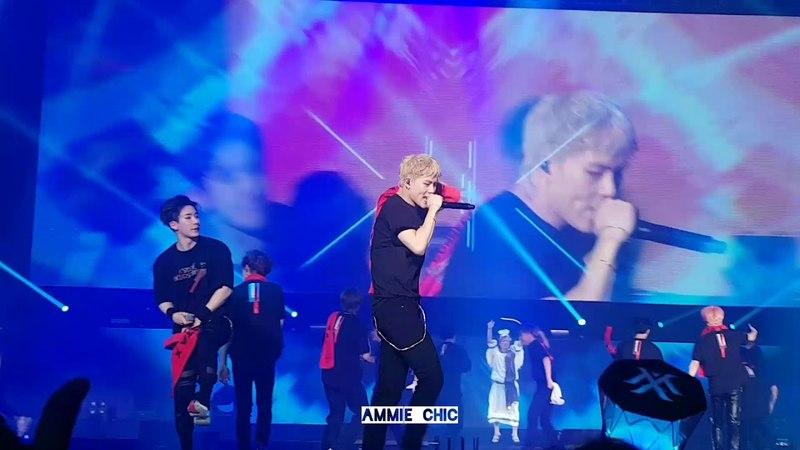 [180526] Fancam - 폭우 FALLIN - MONSTA X 2nd World Tour The Connect in Seoul