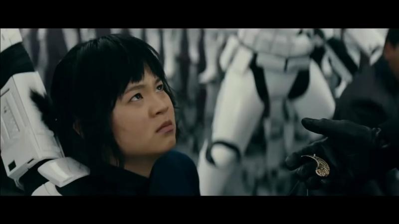 Rose bites Huxs finger - The Last Jedi Deleted Scene