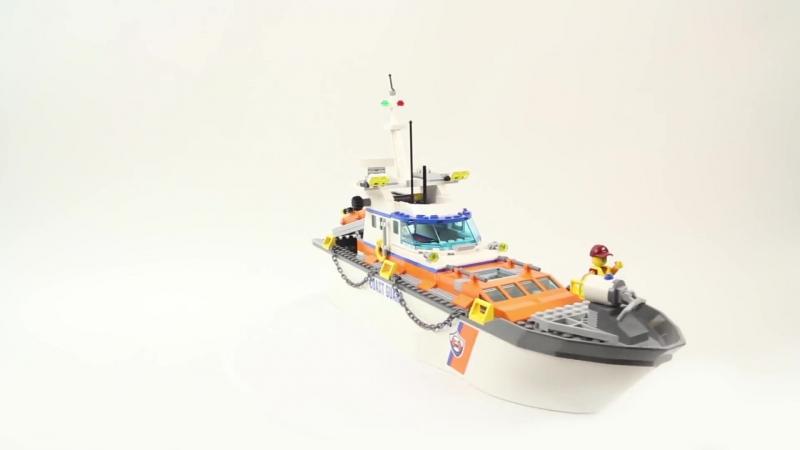 Конструктор LEGO City. Штаб береговой охраны 60167