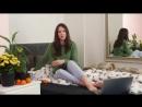 Наташа Шелягина - Постельные новости или жизнь без iPhone X, 29/10/2017 1080p Голая ножки