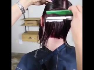 Стильная женская стрижка
