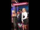 Jennifer Lawrence in Jimmy Kimmel Live Instagram