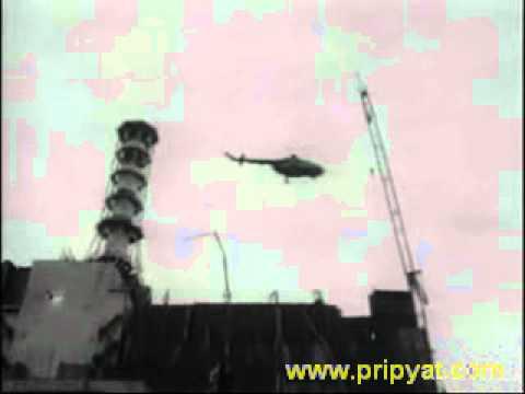 Гибель экипажа Ми-8 . Чернобыль 1986 год.avi