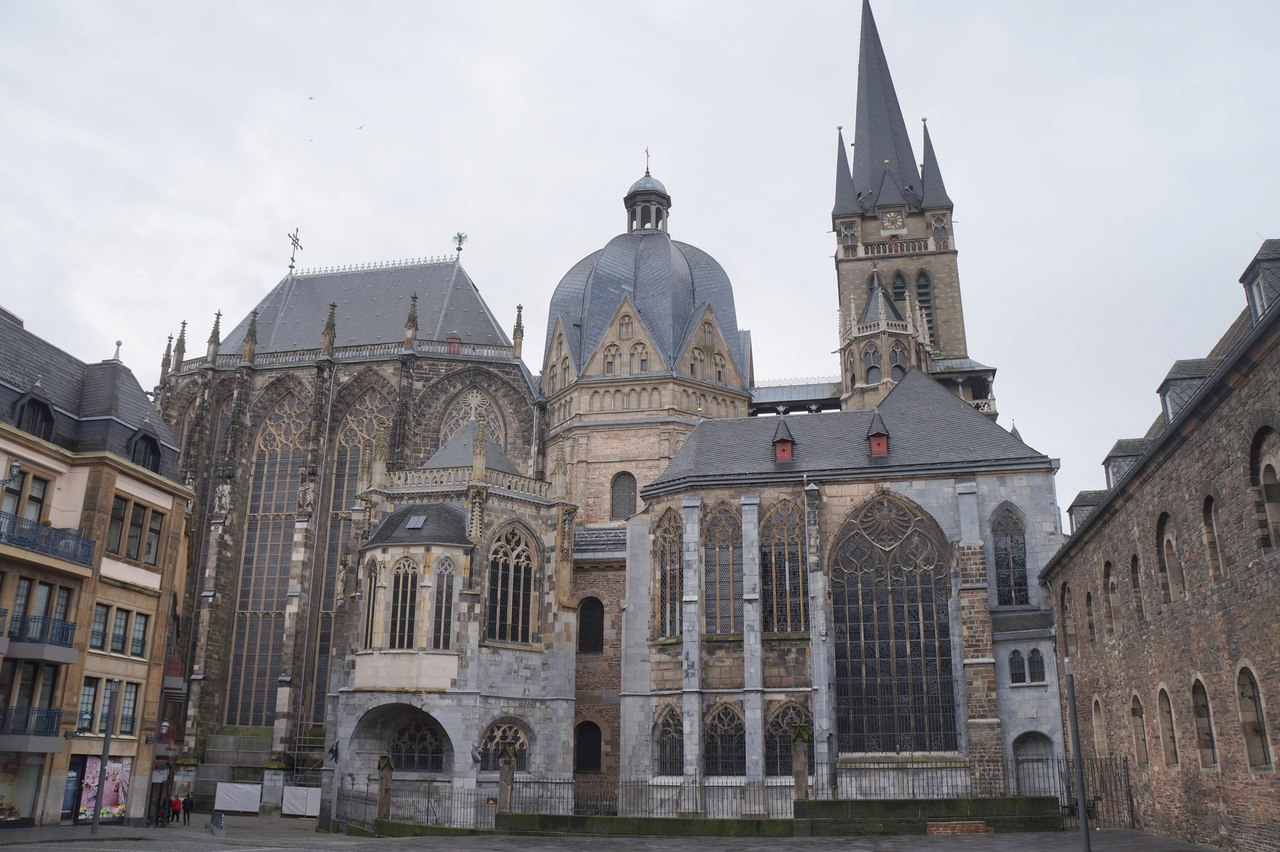 Aachen Cathedral - one of the most ancient cathedrals in the world