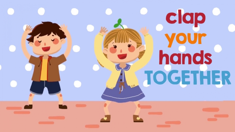 Clap Your Hands _ Action Songs for Children _ The Kiboomers