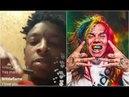21 Savage Responds To 6ix9ine If You Gangbang You Gotta Respect LA