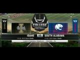 NCAAF 2017  Week 04  Idaho Vandals - South Alabama Jaguars  1Н  23.09.2017  EN