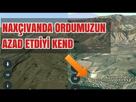Ordumuzun Naxçıvanda neyitral zonadan çıxardığı kend ve alınan postların ustunlukleri